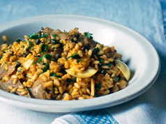Kipper Risotto Recipe